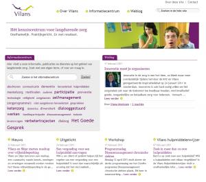 Homepage http://www.vilans.nl