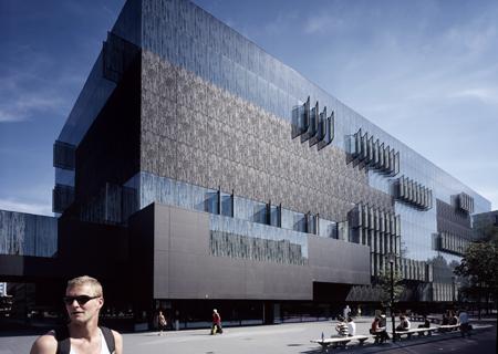 Universiteitsbibliotheek Utrecht, architect Wiel Arets. Foto door Frank Hanswijk