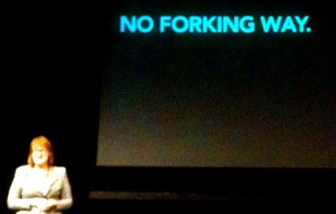 Karen mc Grane op Confab Londen 2013